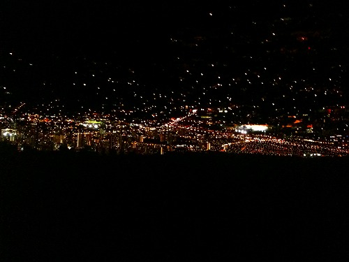 タンタラスの夜景1