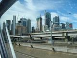 シドニーシティー車窓から
