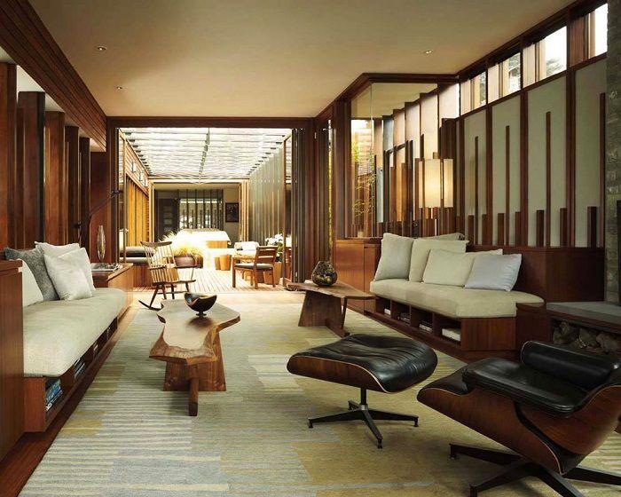 大正モダン・テイストのカリフォルニアの家 ルビデコ