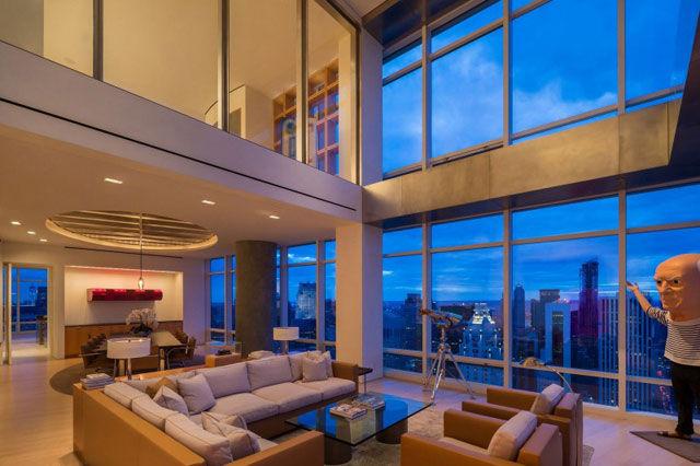 マンハッタンを見下ろす豪華なデュプレックス・アパートメント ルビデコ
