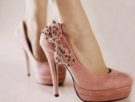 Pink heels 6
