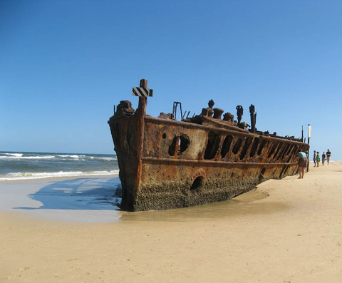 shipwreck-fraser-island-queensland-australia