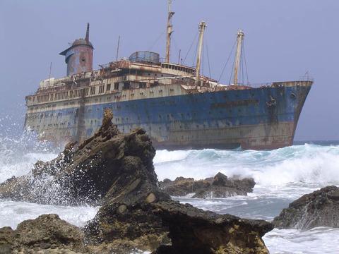 shipwreck-american-star-ss-america-fuerteventura-canary-islands