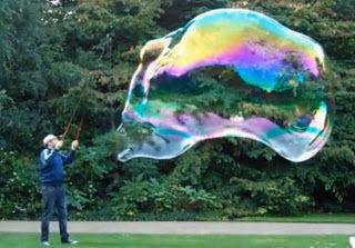 28 bubbles later