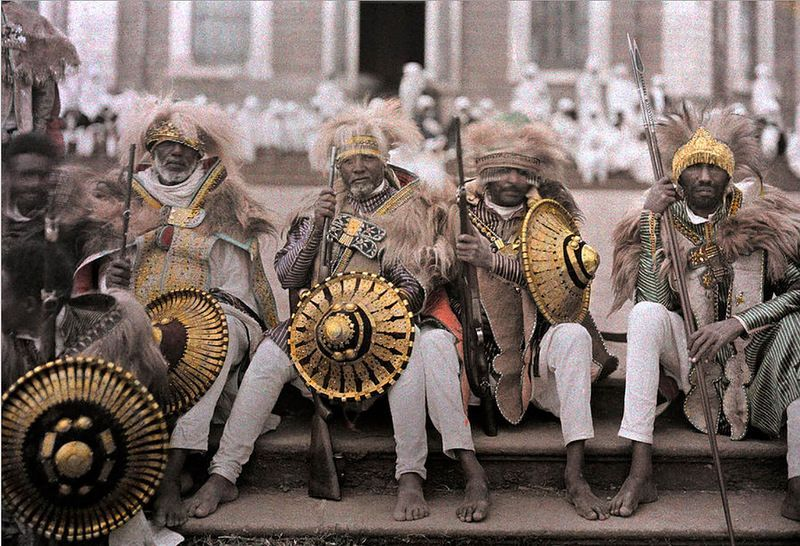 カラーで記憶されたエチオピア 1...