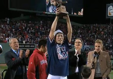 上原浩治 翻訳元ttp://mlb.mlb.com/news/article/ml... MVP