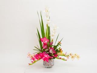 mix in vase