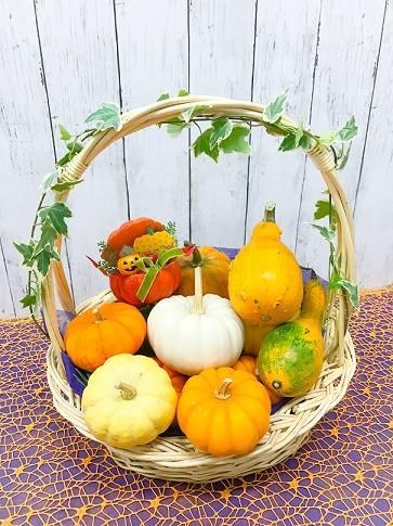 かぼちゃバスケット3980円