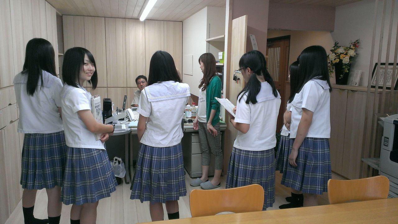 富山県立南砺福野高校2年生の皆...