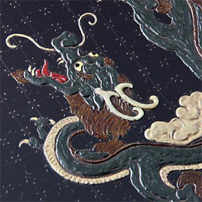 龍文飾皿2