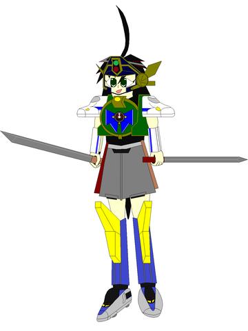 勇者装備 緑