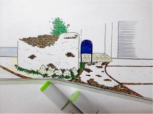 新築戸建 庭づくり ウッドデッキ