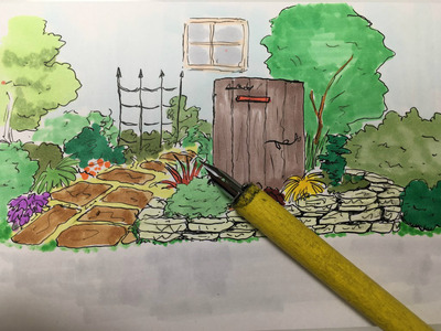 雑草 庭 リフォーム