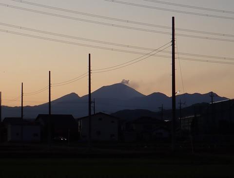 あさま噴火