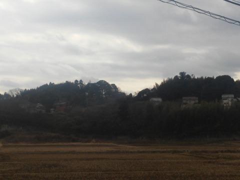 津富浦の北向き分譲地 (2)