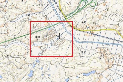 湘南台団地地理院地図