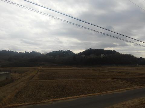 津富浦の北向き分譲地 (1)