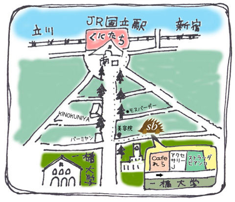 tegaki-map