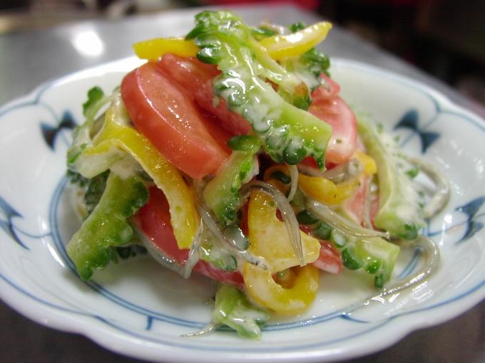 苦瓜サラダ