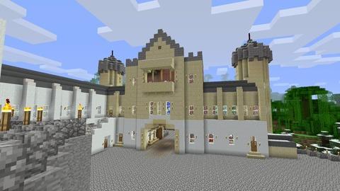 城門館の柱取り替え