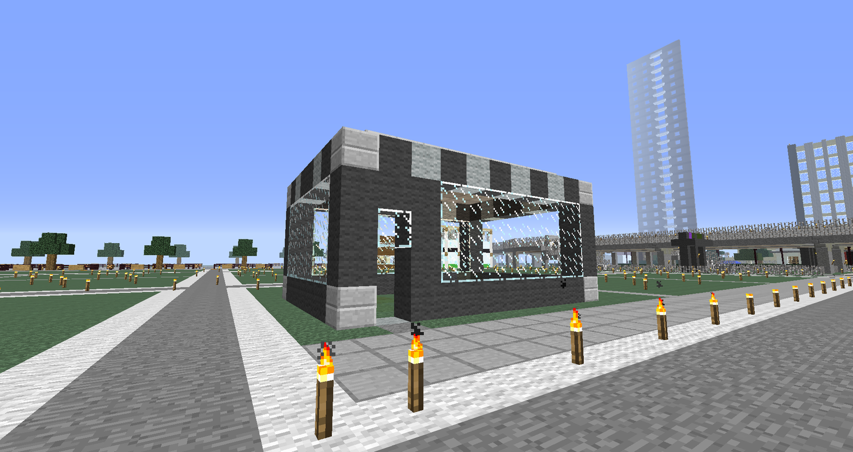 モダン 建築 マイクラ