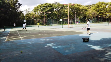 21テニス場
