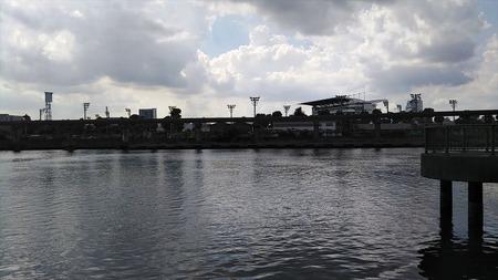 09運河沿い