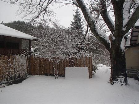 50翌朝は雪景色