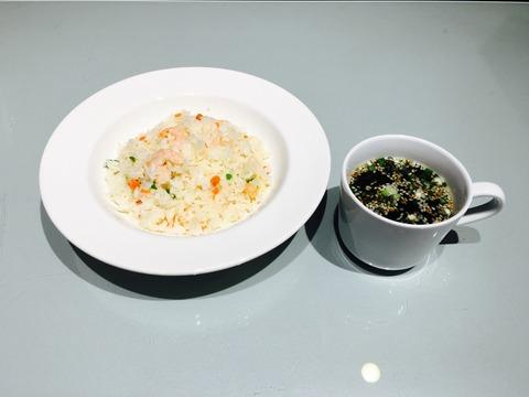 えびピラフ・スープセット
