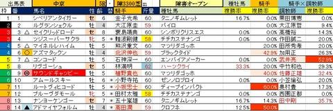 18 中京5R 障害オープン予想