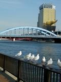 s駒形橋とアサヒビールタワー2 平成江戸風景