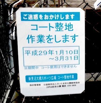 31新見沼スポーツ公園コート生地