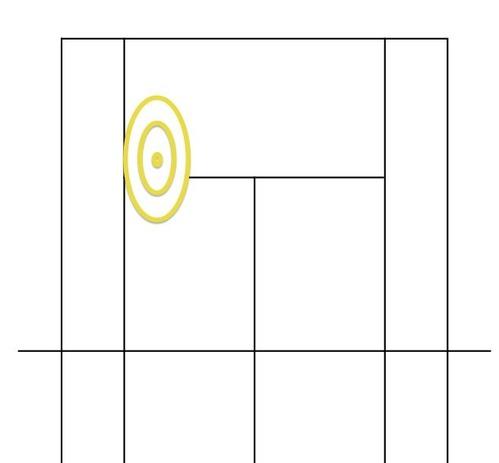 テニスコート模式図