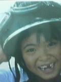 あたしのヘルメットが気に入ったらしい