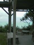 海がすぐ目の前