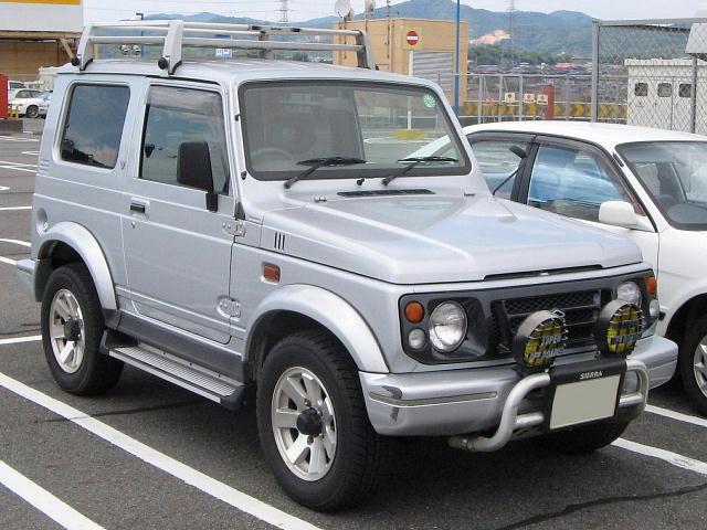 Suzuki-JimnySierra-2nd_1995-front