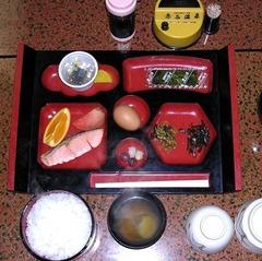 赤石温泉朝食DSCN0123