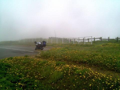 納沙布岬のバイクちゃん