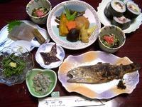 7_17かどや旅館夕食