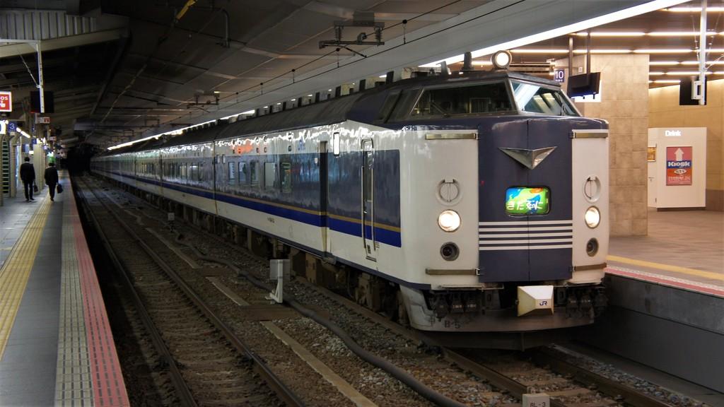 大阪の列車 その1 寝台急行きたぐに Rail Scope