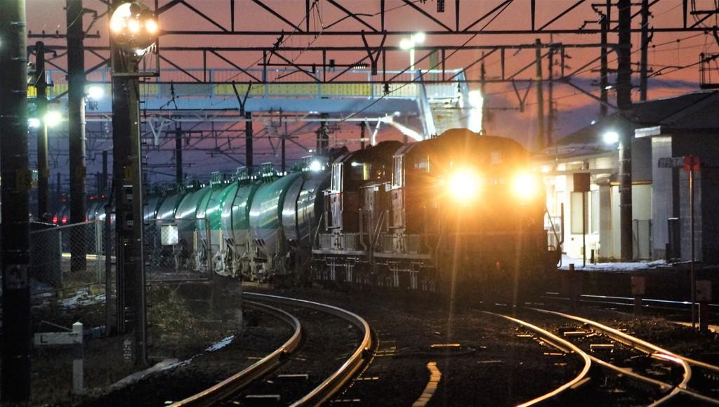 2018年1月27日 dd51重連 5263レを追う rail scope