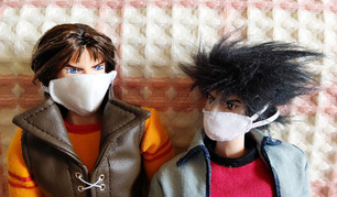 仁さんマスク