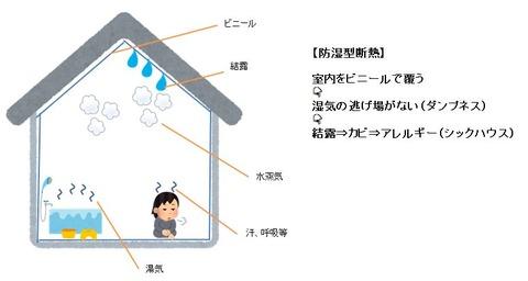 防湿型断熱