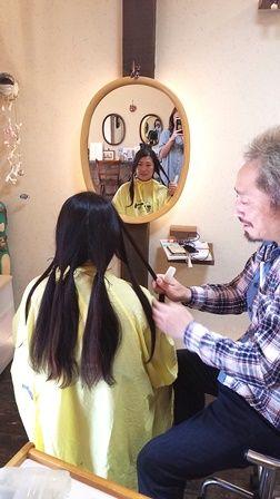 武蔵小杉エリア、元住吉、武蔵新城でヘアドネーションをしたくて美容室をお探しの方は是非、波照間『はてるま』へ