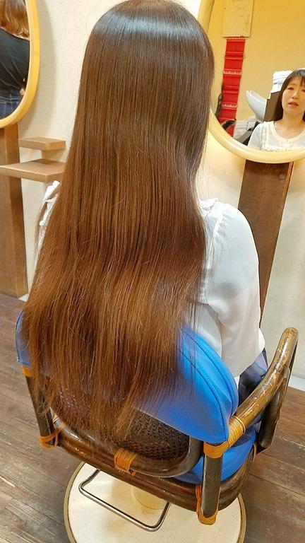 元住吉の美容室『波照間』同級生のヘアドネーション