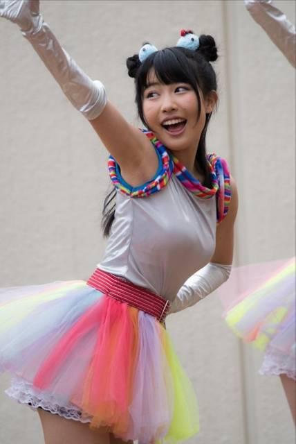 虹のコンキスタドール奥村野乃花(16)の暴れ乳