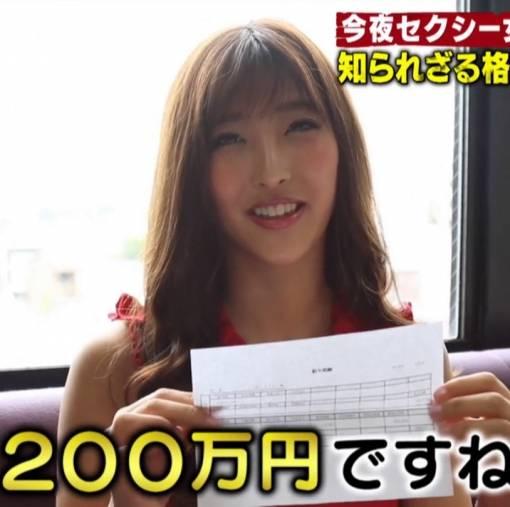 水川スミレ(百多えみり)月収200万!!!!