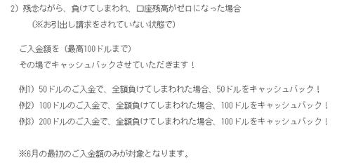 ワイルドジャングル キャッシュバックオファー! 2