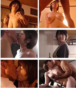 「人妻は接吻に堕ちる 許されぬ義父との口づけ 松本菜奈実」のキャプチャー画像