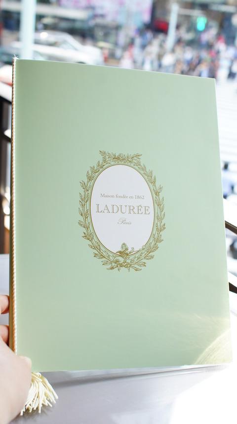 銀座「LADUREE ~ラデュレ~」(カフェ利用)